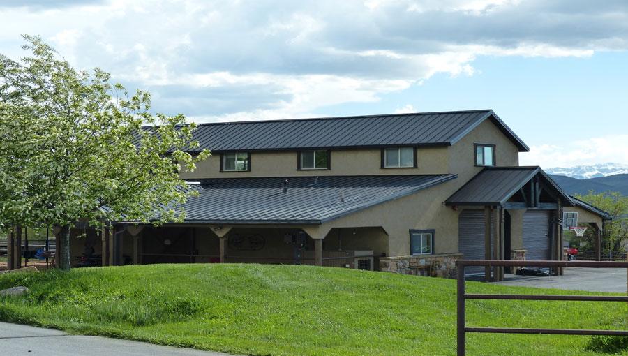 Serenity Ranch Barn Exterior