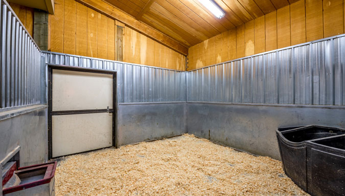 Serenity Ranch Horse Stall