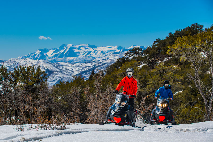 Trail Creek Canyon Ranch Viewscapes and Snowmobiling