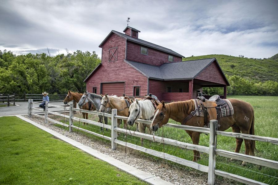 Trail Creek Canyon Ranch Horse Barn
