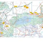 Gamble Ranch Location Map