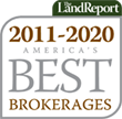 2011 - 2020 America's Best Brokerages - The Land Report