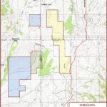 Gamble Ranch Topo Map